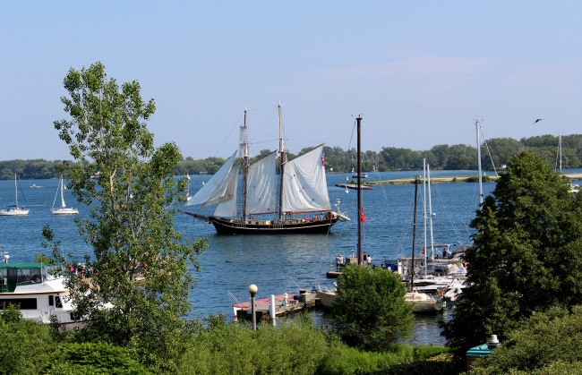 Tall Ships on Toronto's Waterfront