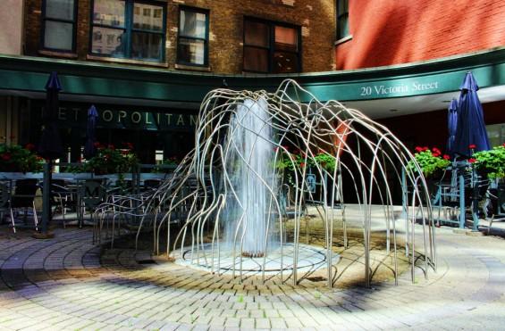 Hidden Fountain by Nicky Jameson