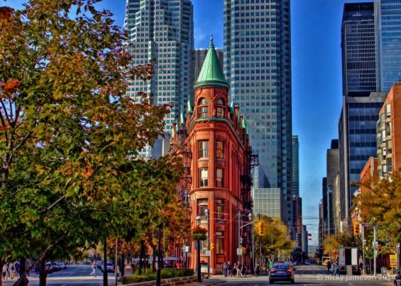 Toronto Flatiorn Building, Artistic print