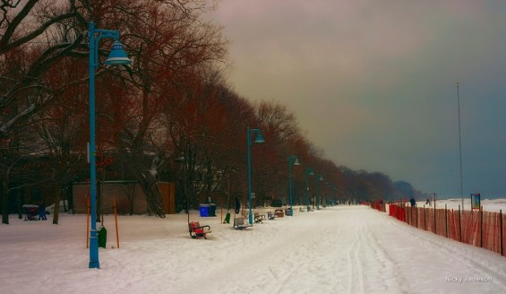 Toronto Photography - Winter Boardwalk