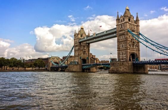 Tower Bridge London by Nicky Jameson