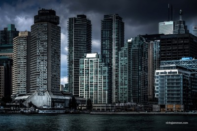 Moody Toronto SKyline by Nicky Jameson