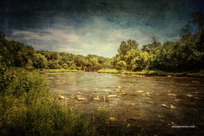 Humber River at Old Mill by Nicky Jameson