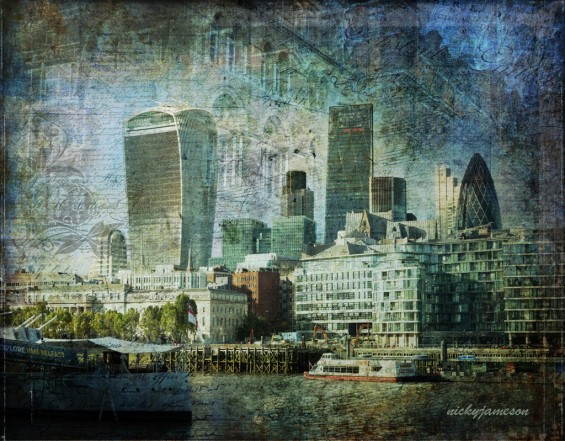 London Skyline By Nicky Jameson
