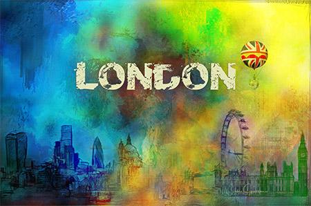 london uk art by Nicky Jameson