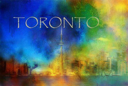 Toronto Skyline Cityscape
