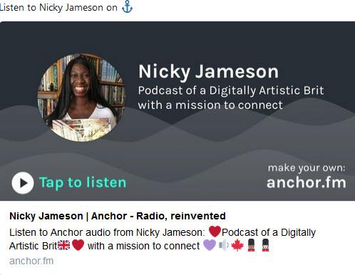 Nicky Jameson's Podcast