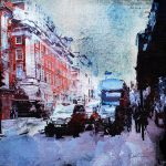 New Art! Piccadilly Afternoon Rush –  Canvas Print