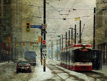 Winter Art  – That Day it Snowed