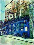 New Watercolour Art – Old Fountain Pub